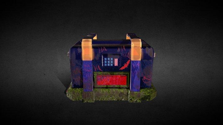 Contenedor (Modelo Joker) 3D Model