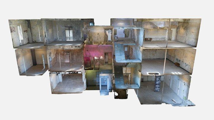 El Orfelinato - Interior 3D Model