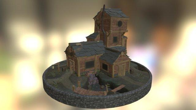 Old Goblin Inn 3D Model