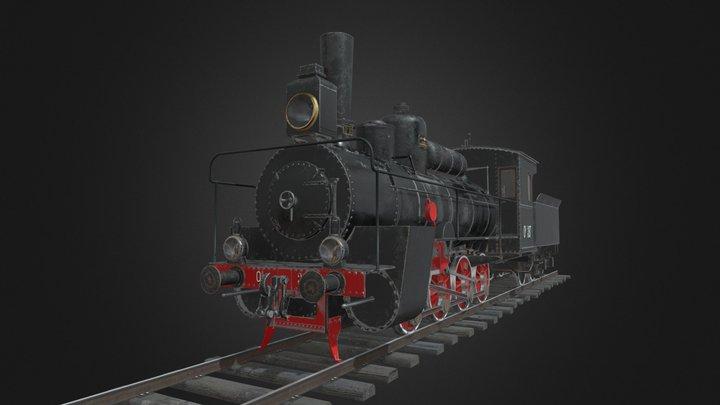 Ov steam locomotive 3D Model