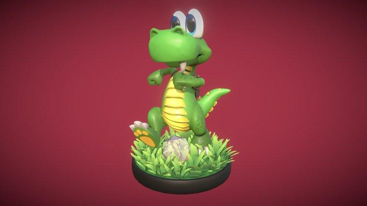 Croc: Legend of the Gobbos 3D Model