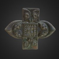 Iron Age Harness Mount 3D Model