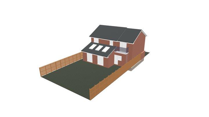 Killingworth 4th Bedroom - Proposed 3D Model
