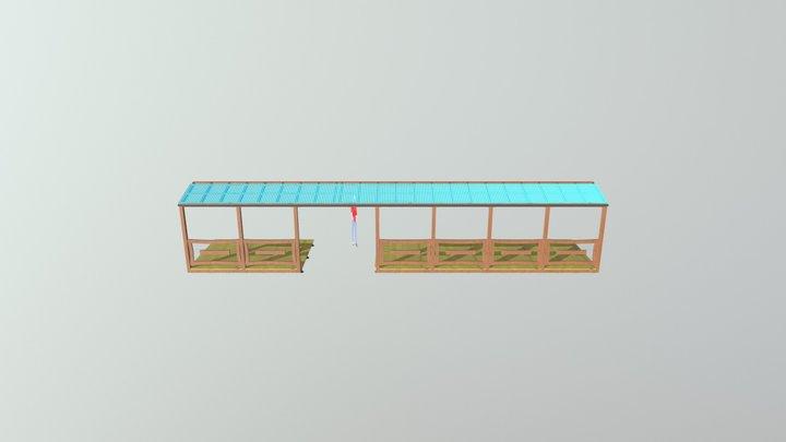 Terasse+lille+ Gjesten2 3D Model