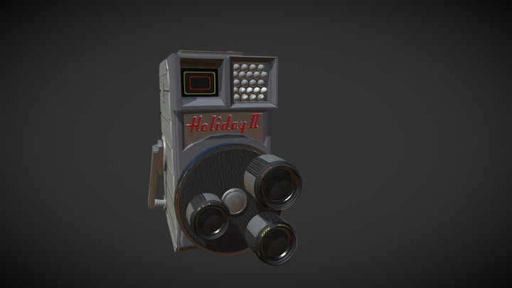 Holiday2 Game Res 3D Model
