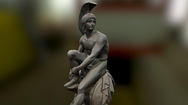 Sculpture of :: Θησέας - Theseus 1868 3D Model