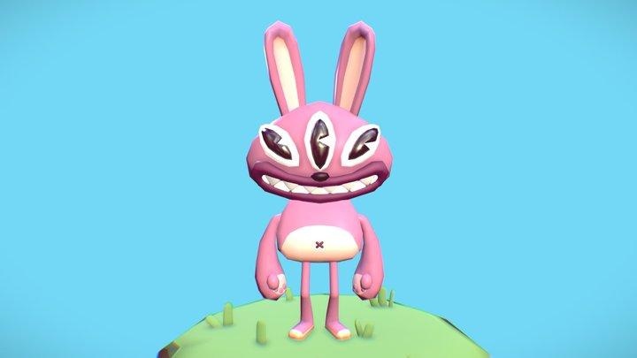 Funny bunny 3D Model