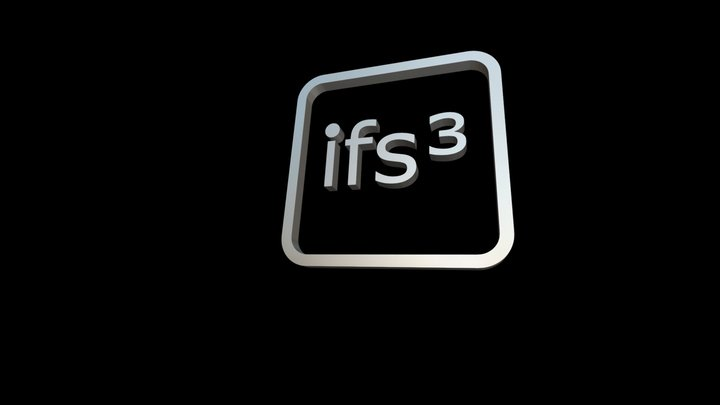 ifs³ 3D-Logo 3D Model