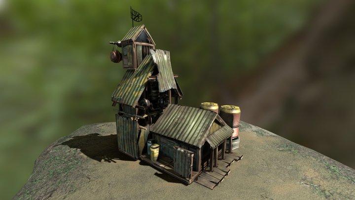 The Junta's Jungle Base 3D Model