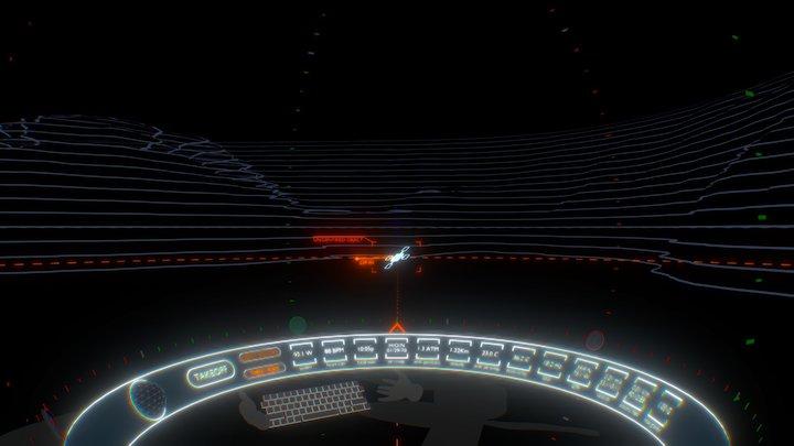 UAV Cockpit (VR) 3D Model