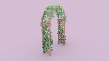 Arch and Vine 3D Model