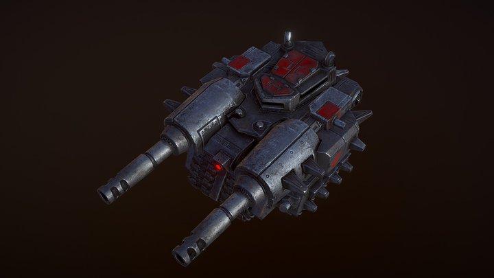 "Tank ""Dreadnought"" 3D Model"