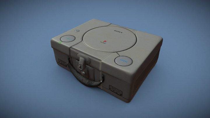 Playstation 1 Suitcase Challenge 3D Model