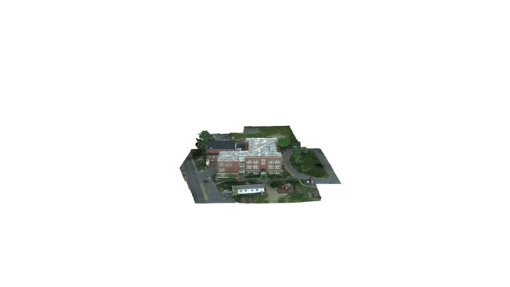 Tisbury School - Photogrammetry Model 3D Model
