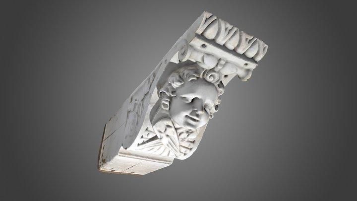 164 Sleutelstuk, Achter het Wild Varken 9 3D Model