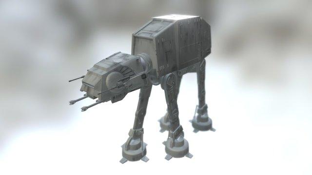 AT-AT Imperial Walker 3D Model