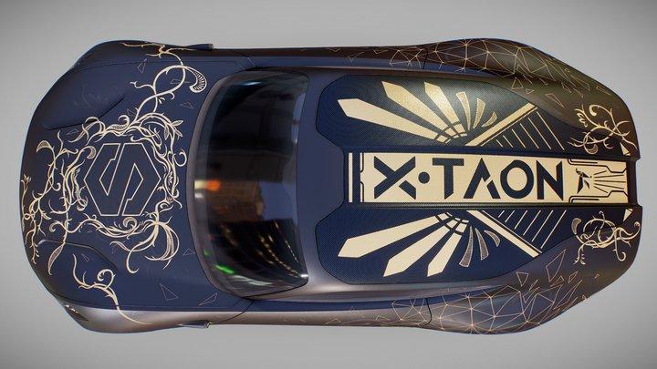 X-Taon contest - NiukNiuk's Art (Déco) Car 3D Model