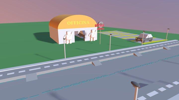PRJ - Officina Meccanica 3D Model