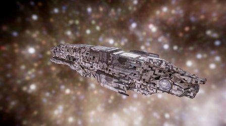 Dominium : Sulranian Heavy Frigate 3D Model