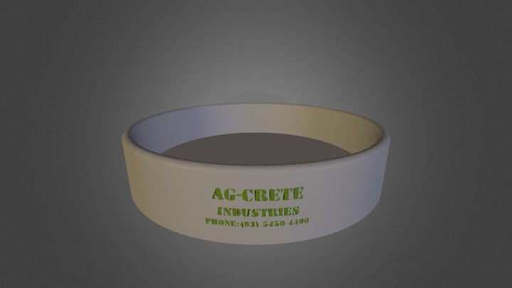 AG-CRETE 3D Model