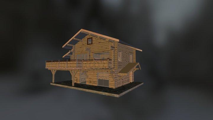 Chalet_Bolquiere 3D Model