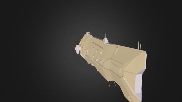Vaygr-Battlecruiser 3D Model