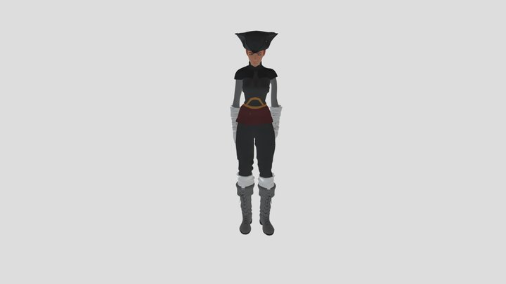 Sae- Rough draft test animations 3D Model