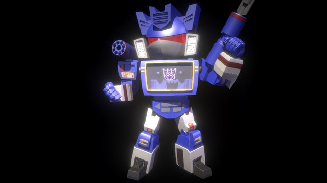 Soundwave 3D Model