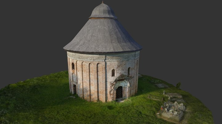 rotunda Šivetice 3D Model