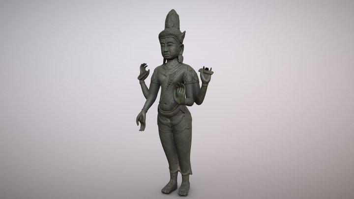 Avalokiteshvara, Bodhisattva  |  Thailand bronze 3D Model