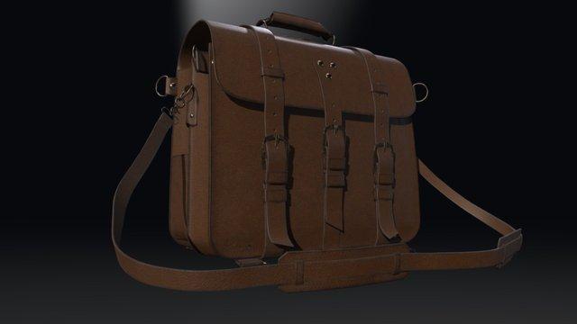 Bag of studying 3D Model