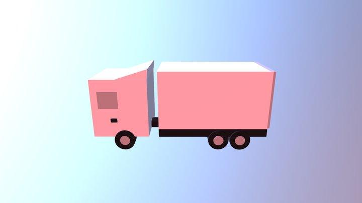 Truck True FInal 3D Model
