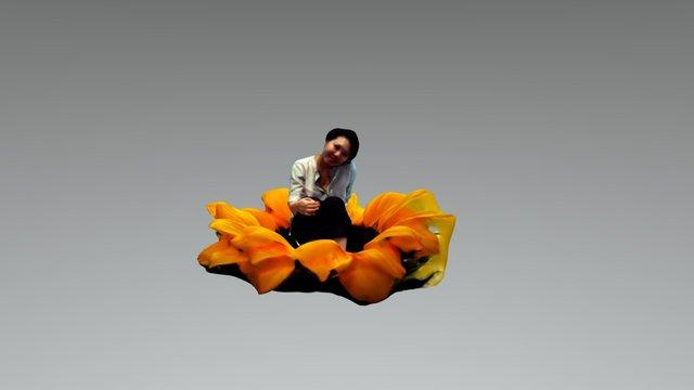 flower girl 3D Model