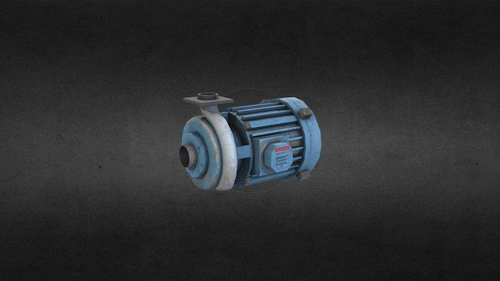 Motor 3D Model