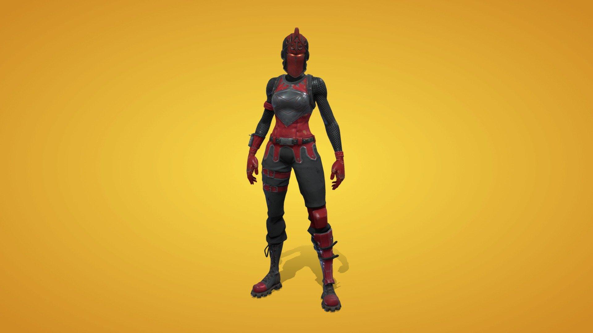 Red Knight Outfit 3d Model By Fortnite Skins Fortniteskins 0847566 Sketchfab