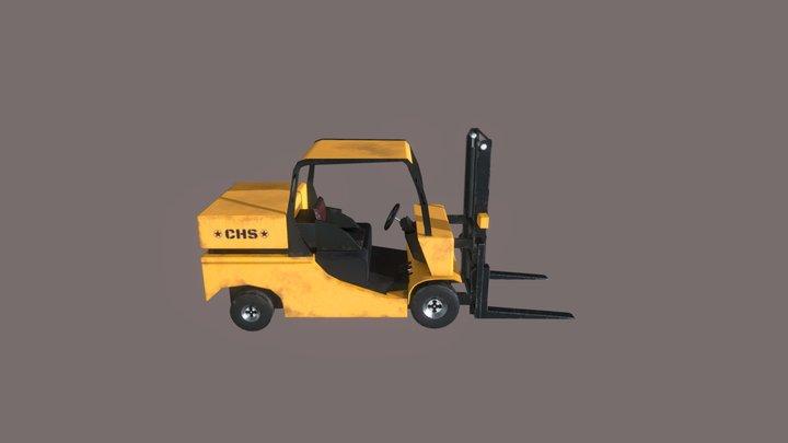 Forklifter - Game Ready 3D Model