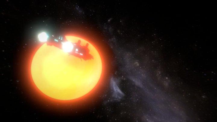 SUN III 3D Model