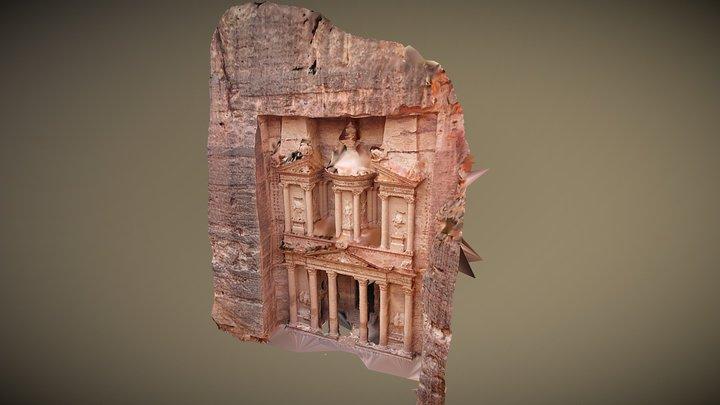 Petra Treasury - Made with random google images. 3D Model