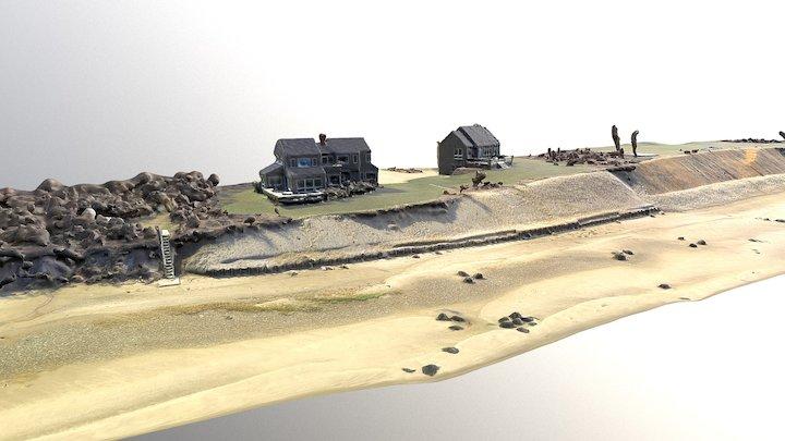 Nantucket Coastal Bank Survey 3D Model