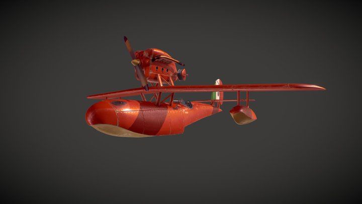 Porco Rosso Savoia s21 3D Model