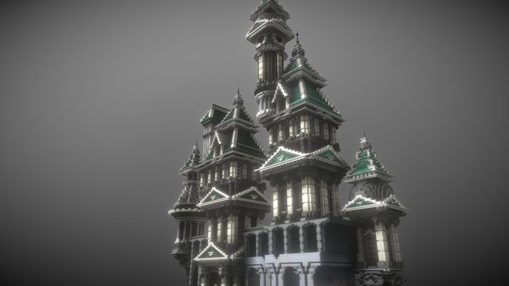 Nebula Castle 3D Model
