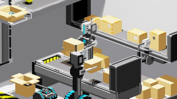 """The """"LightBulb"""" Factory 3D Model"""