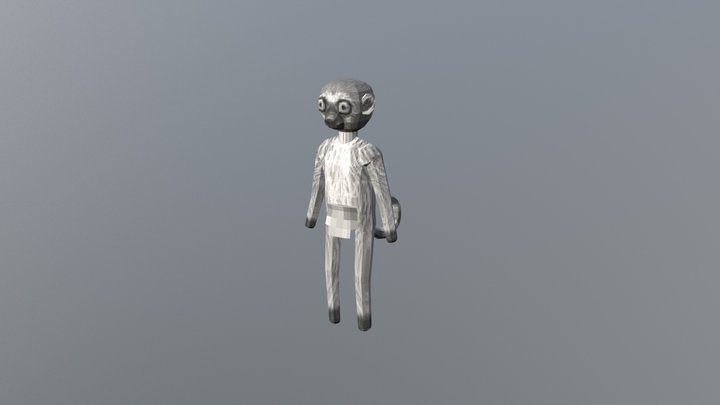 Lemur Default 3D Model