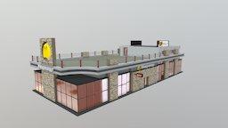 McDonalds (Krasnodar, Russia) 3D Model