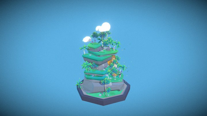 Game art- Low Poly 3D Model