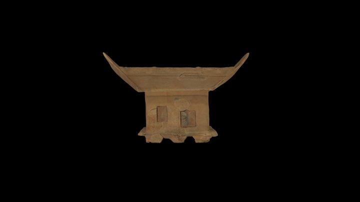 35 家形埴輪 3D Model