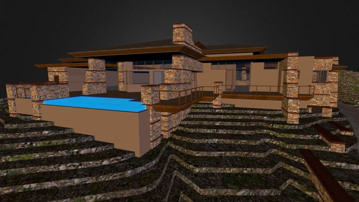 Curry Residence II 3D Model