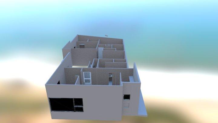 1st Floor test 3D Model