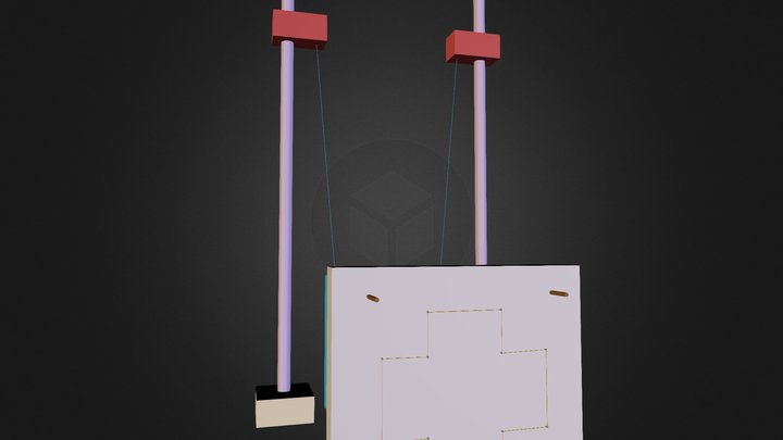 Ionocraft Slinger 3D Model