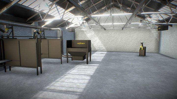 Fumex interactive room 3D Model
